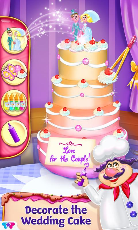 Clumsy Chef Wedding Cake- screenshot
