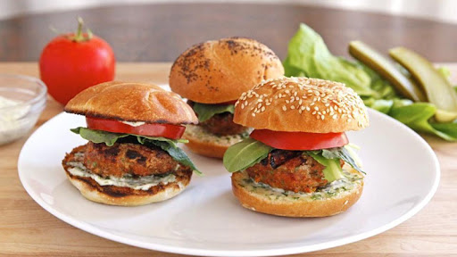 Healthy Burger Recipe Free