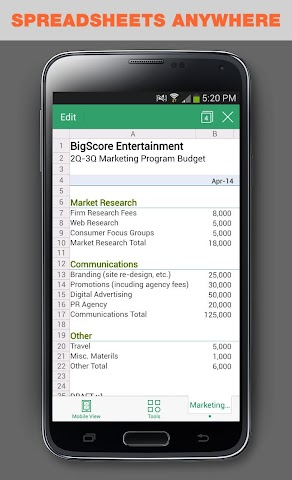 android WPS Office + PDF Screenshot 17