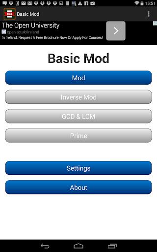 Basic Mod Calculator
