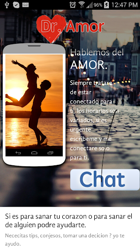 Chat privado del Amor