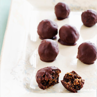 Fig and Ginger Truffles