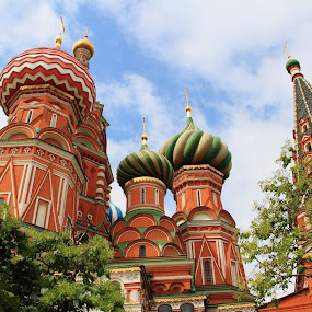 St Basil's Cathedral  - Moscow by Carole Walle - Buildings & Architecture Public & Historical (  )
