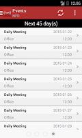 Screenshot of IamResponding (IaR)