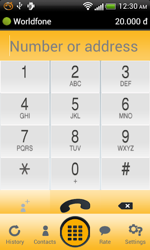 Worldfone for Android