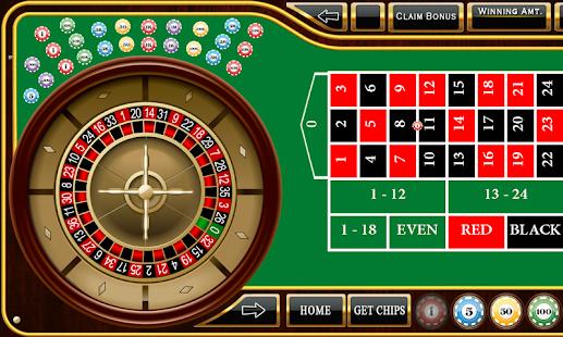 Roulette - Casino Style! - screenshot thumbnail