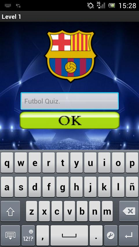 Football Quiz Logo - screenshot