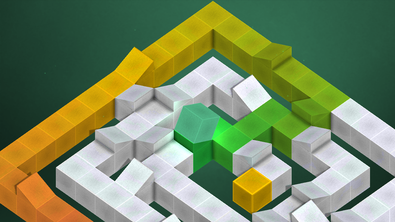 Box-E - The Colorful Cube Game- screenshot