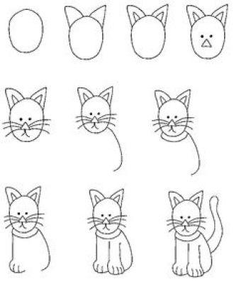 Learn To Draw Kitty Cat