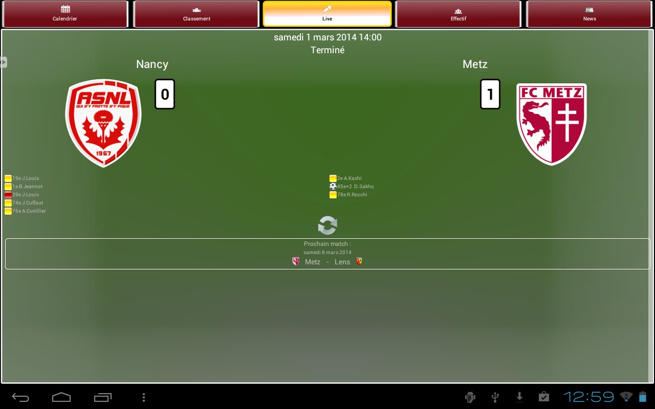 FC Metz - screenshot