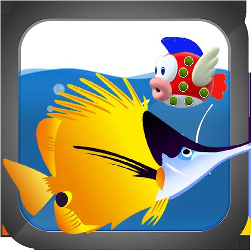 Hungry Fish LOGO-APP點子