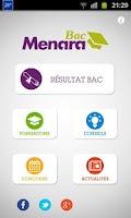 Screenshot of Menara Bac 2014