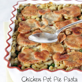 Baked Chicken Pot Pie Pasta.
