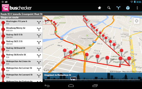 Transantiago Bus Checker - screenshot thumbnail