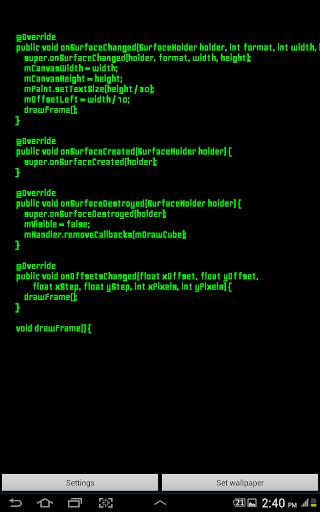 I am Hacked - Live Wallpaper