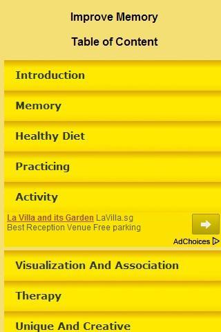 【免費健康App】Improve Memory Course-APP點子
