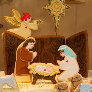 Gingerbread Nativity Creche
