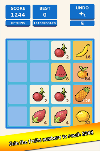 Farm 2048: Fruits Puzzle