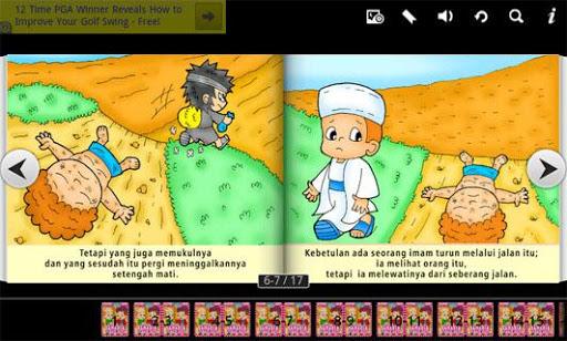 Alkitab Anak Samaria Baik Hati