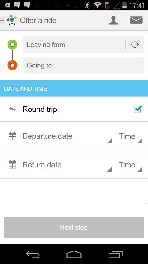 BlaBlaCar, Trusted Ridesharing - screenshot