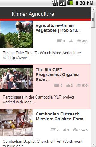 Khmer Agriculture