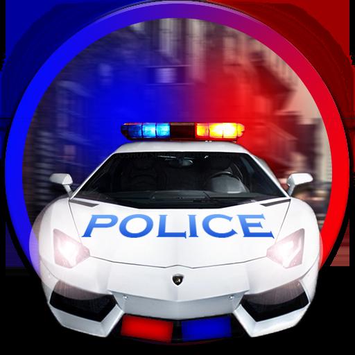 赛车游戏の幼児の子供の車のおもちゃ警察 LOGO-記事Game