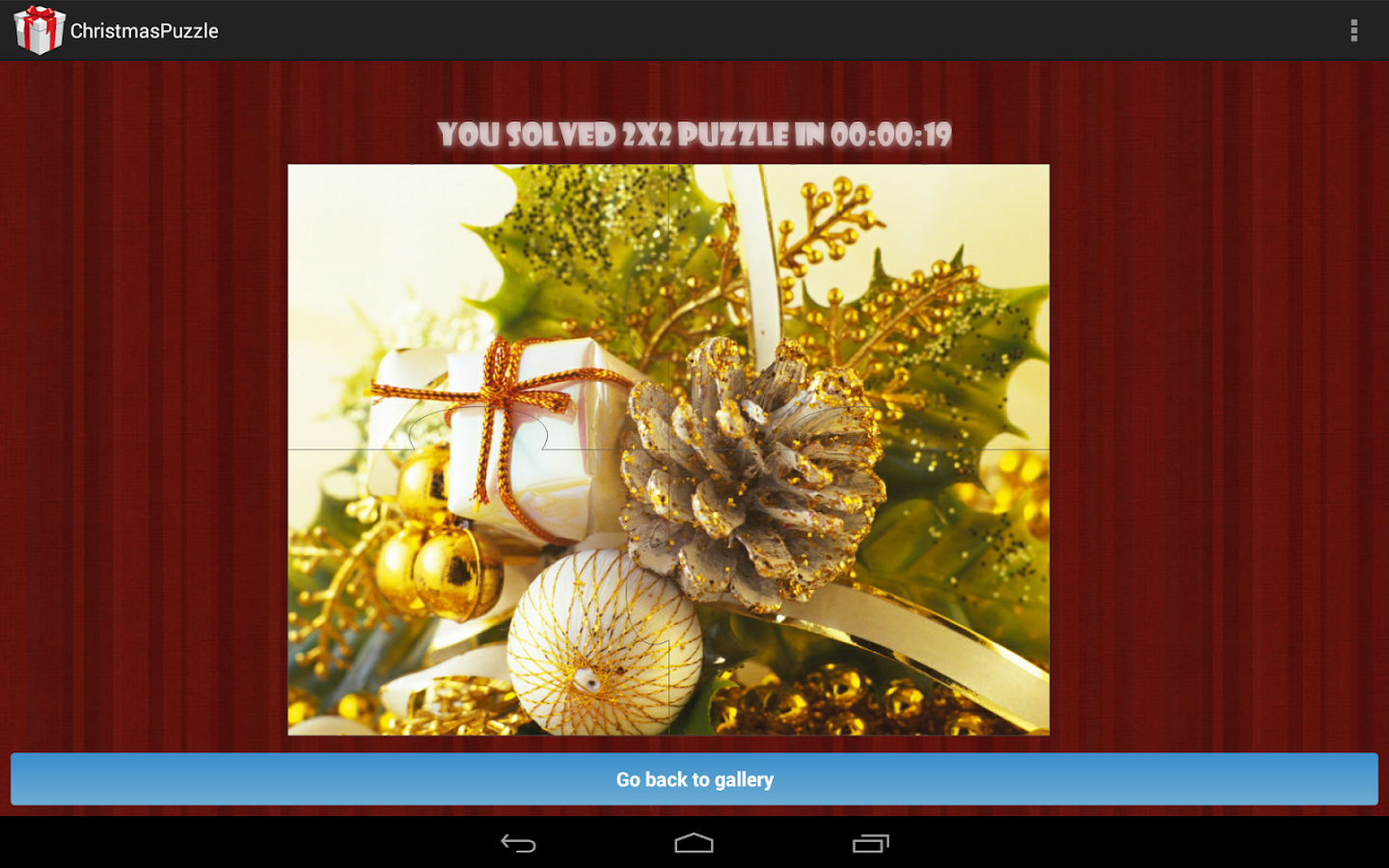 Christmas Puzzles Free- screenshot