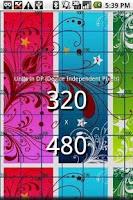 Screenshot of Screen Resolution