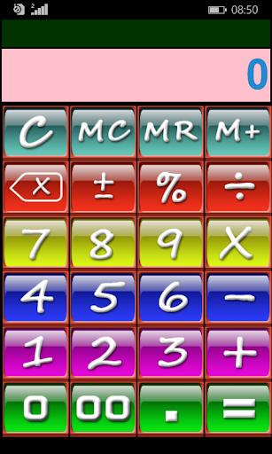 Calculator Colorful