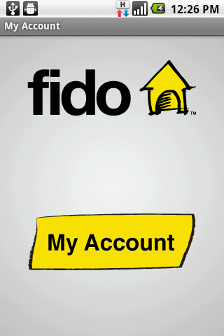 Fido My Account - screenshot