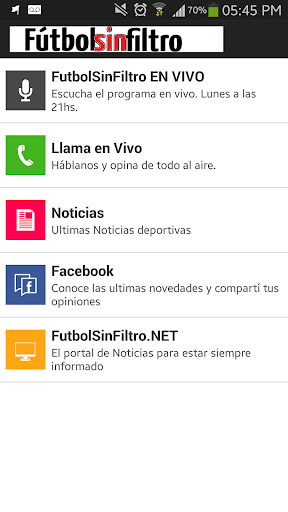 FutbolSinFiltro