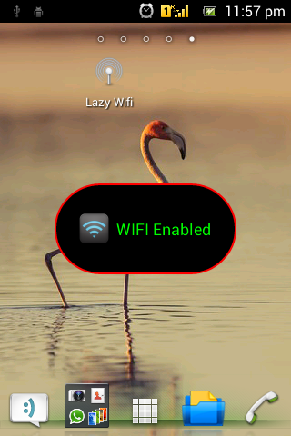 One Touch Wifi Toggler