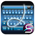 SlideIT Blue Metal Skin icon