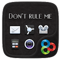 Do not rule me GO Theme icon