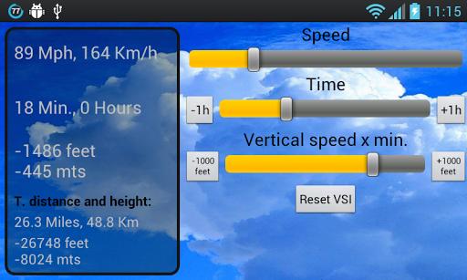Flight Meter
