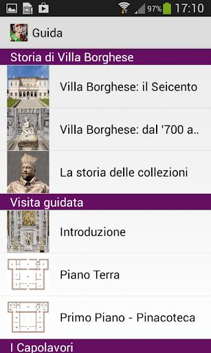 Galleria Borghese Italiano