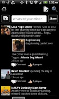 Screenshot of Black Theme for Facebook