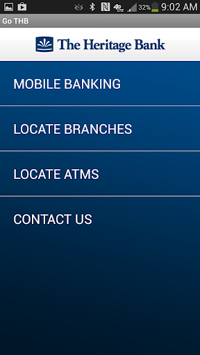 The Heritage Bank Mobile App