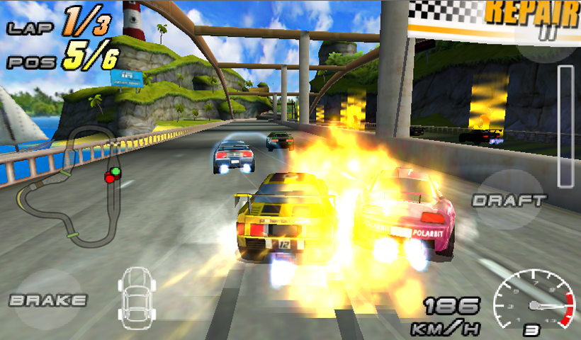 Raging Thunder 2 - FREE - screenshot