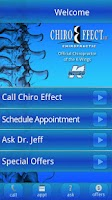 Screenshot of Chiropractic Help