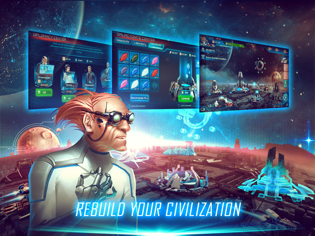 Galaxy Legend: Space Frontier- screenshot