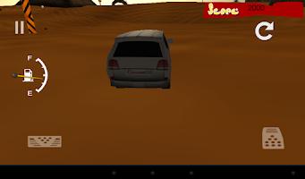 Screenshot of 3D desert race