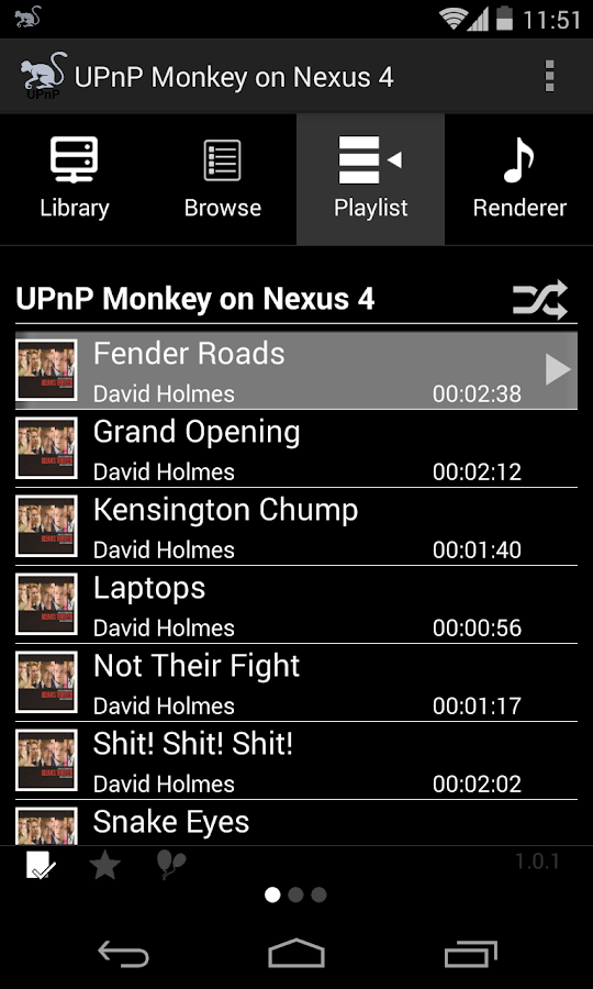 UPnP Monkey - screenshot