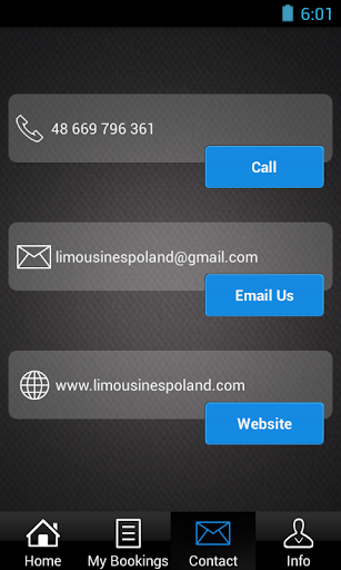 【免費交通運輸App】LimousinesPoland.com-APP點子