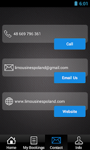 LimousinesPoland.com- screenshot thumbnail