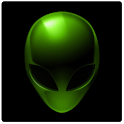 Alien Theme GO SMS icon