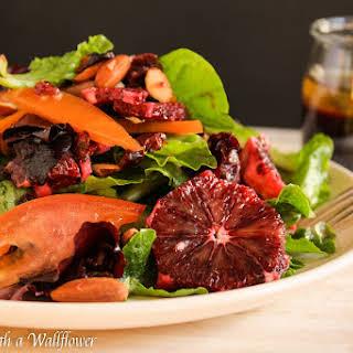 Citrus Salad with Blood Orange Balsamic Vinaigrette.