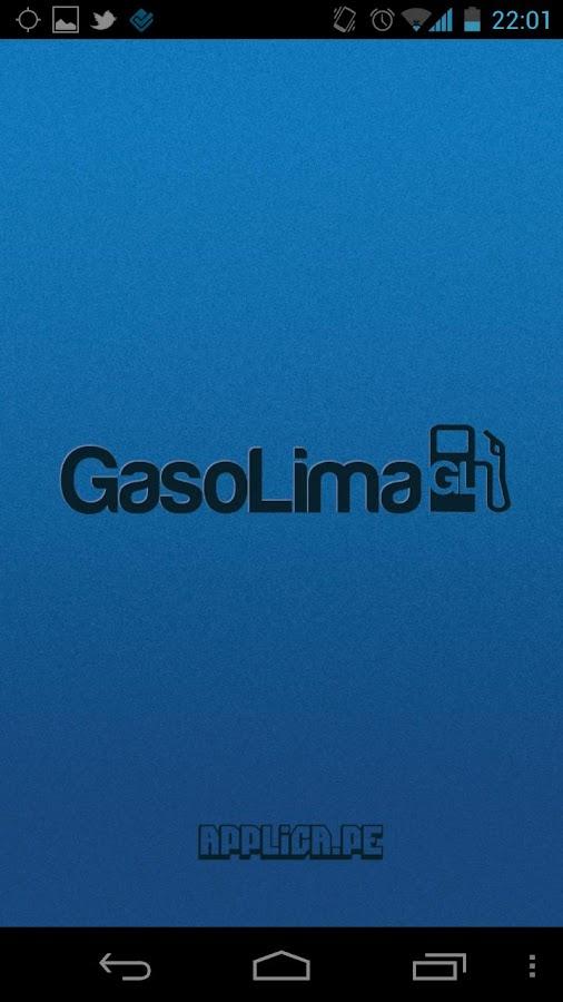 GasoLima- screenshot