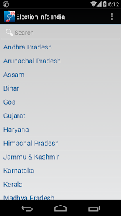 Election Info India - screenshot thumbnail