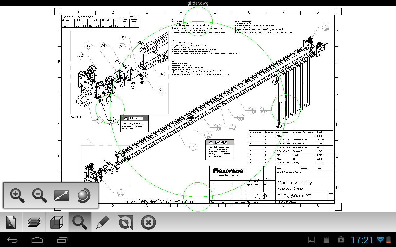 Etoolbox Mobile DWG CAD Viewer - screenshot
